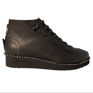 Papucei New Women's Boots Azola Black Leather